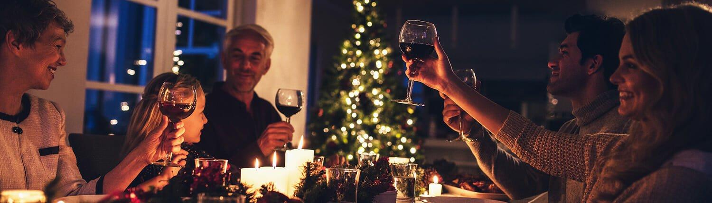 Wijn & Kerst